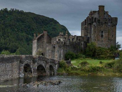 Eilean Donan Castle, Plocton & The Clan Donald Centre