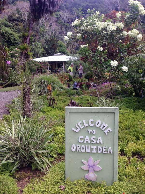 casa orquideas botanical garden costa rica